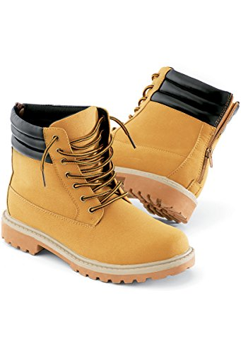 Urban Groove Hip Hop Work Boot Unisex Dance Boot Camel 7AM