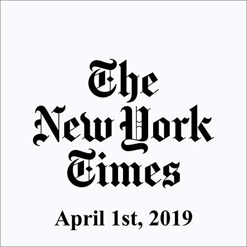 April 1, 2019 copertina