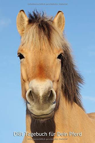 Diät Tagebuch für Dein Pferd: Norweger - Softcover, 120 Seiten, übersichtliche Vorlage