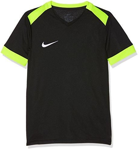 NIKE Park Derby II Camiseta, Niños, Negro (Black/Volt/Volt/(White), L