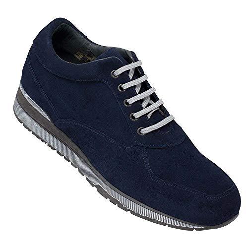 Masaltos Zapatos de Hombre con Alzas Que Aumentan Altura Hasta 7 cm. Fabricados...