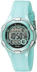 cheap Women's Digital Watch Armitron Sport 45/7053LTG with Light Green Polymer Strap