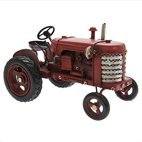 The Leonardo Collection LP45702 Vintage Tractor Ornament, Red, 17x10x10cm