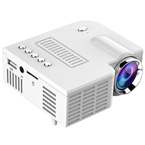 Tamkyo Tragbarer Projektor 500LM Heimkino Kino Multimedia LED Video Projektor...