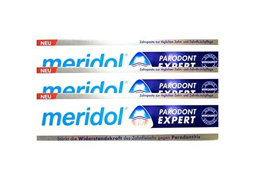 3x MERIDOL Parodont-Expert Zahnpasta 75 ml PZN 12442269 gegen Parodontitis