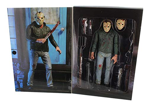 NECA Friday The 13th Scale Ultimate Part 3 Jason Action Figure, 7'