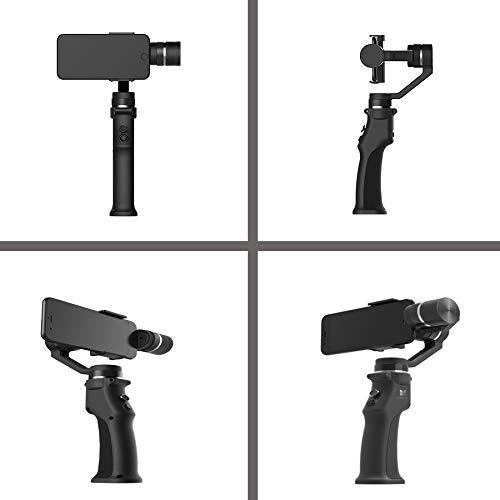 Walker Valentin Estabilizador Estabilizador de 3 Ejes 3 Combo Handheld Smartphone Estabilizador Gimbal for iPhone Gopro 7 6 5 SJCAM EKEN YI Cámara de acción Option 4