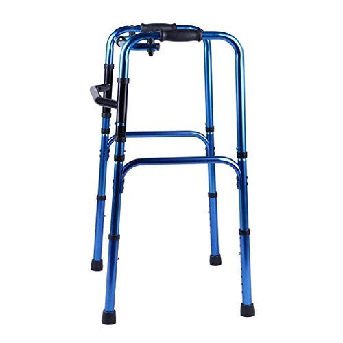 LXLH Andador Plegable sin Ruedas, Ligero Andador de Movilidad Plegable sin...