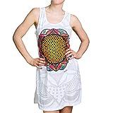 PANASIAM Dress Mirror FlowerOfLife White