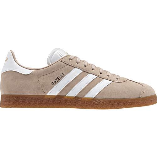 adidas Gazelle Mens Shoes Ash Pearl/Cloud White/Gum cm8467 (8.5 M US)