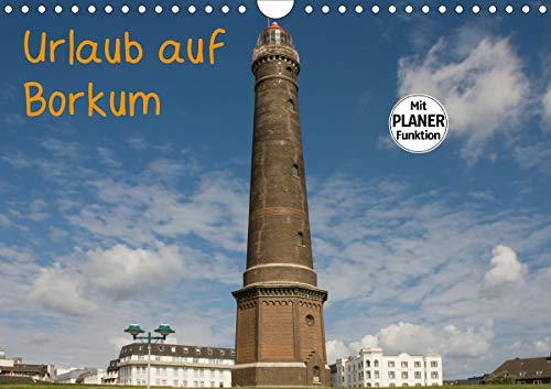 Urlaub auf Borkum (Wandkalender 2021 DIN A4 quer)