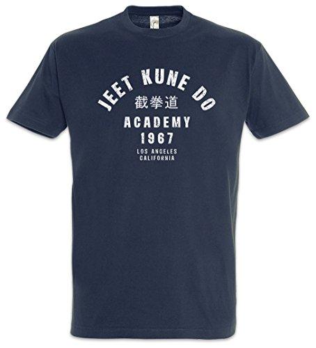Urban Backwoods Jeet Kune Do Academy Uomo T-Shirt Blu Taglia S