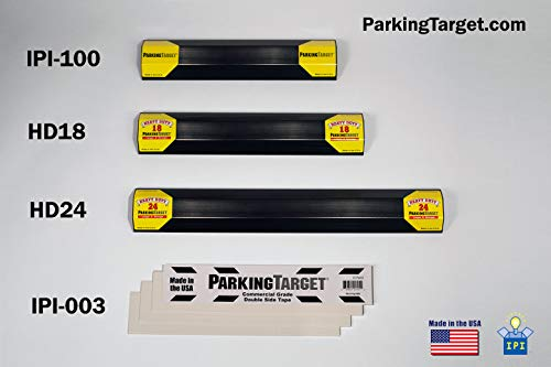 IPI-100: Parking Target - Parking Aid Protects Car and Garage Walls - Easy to Install – Peel and Stick - Only 1 Needed per Vehicle – Mom and Dad and USA Decals Included – Parking Gadget Great Gift Photo #5