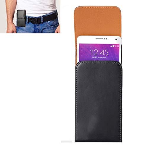 Wckxy Caja del teléfono del Caballo Loco Textura Vertical del Cuero del tirón Cubierta del teléfono/Bolso de la Cintura con Volver férula for iPhone 6 Plus y 6S Plus, Galaxy Note 8/5 Galaxy Note/N