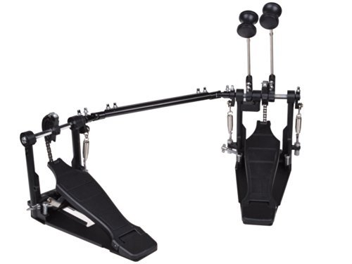 TMS Percussion Drum Pedal Double Bass Pedal Foot Kick Drum Set Percussion Dual Pedal Single Chain Drive