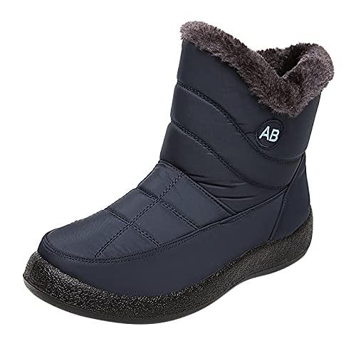 Caixunkun Women's Short Waterproof Wellington Boots Rain Boots Short Shaft Chelsea Boots with Block Heel Black Grey Pink Size 36-42