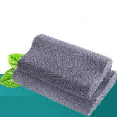 ZXC Almohada De Espuma con Memoria, Almohada De Cama De Apoyo, Almohada De Soporte De Cuello: La Mejor Almohada De Dormir De Costado Y Espalda, Dormir con Comodidad,Blue