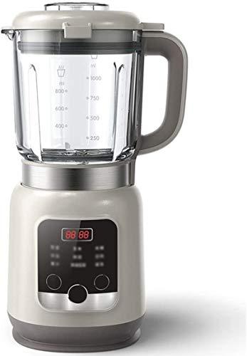 JISHIYU-S Blender 600W, licuadora de Batidos for Batidos y Batidos, Fabricante de Smoothie encimeras con Lanzador de Vidrio sin BPA for Aplastar Hielo y Fruta congelada