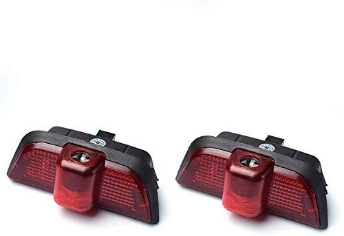 LIKECAR 2 Voiture Projecteur Lampe de Porte Ghost Shadow Welcome de lumière Logo Kit de Porte Lampe (W204-AMG)