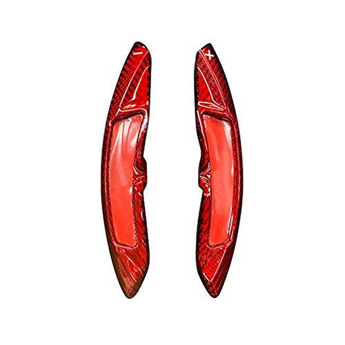 MIOAHD Auto Styling Carbon Lenkrad Schaltpaddel, fit für Porsche 911 997 996 Panamera Cayenne Macan