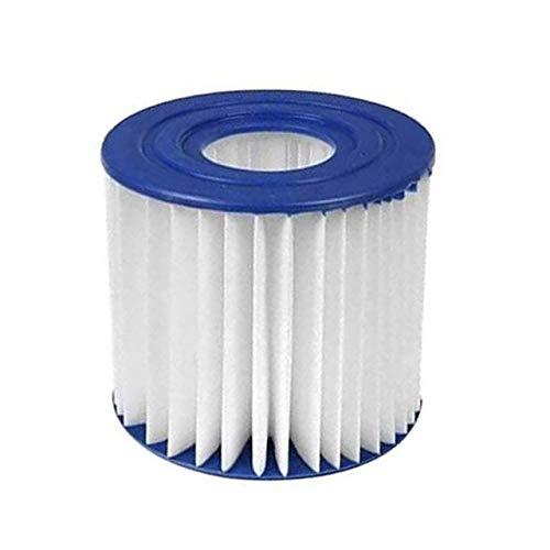 JAP768 Casa Piscina Espuma limpiadora Filtro de Esponja en Forma for el VII/depuradora D Reutilizable Cartucho Lavable de Biofoam Limpiador de Piscinas de Accesorios (Color : 1pcs Pool Filter)