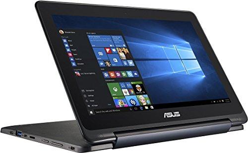 Asus Flipbook TP200SA 29,4 cm (11,6 Zoll) Convertible Tablet-PC (Intel Celeron N3050, 2GB RAM, 32GB eMMc, Intel HD Graphics, Win 10 Home) blau inkl. Office 365 Personal