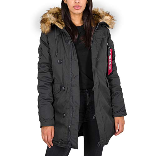 Alpha Explorer WMN Jacket, Gris Foncã, XS Femme