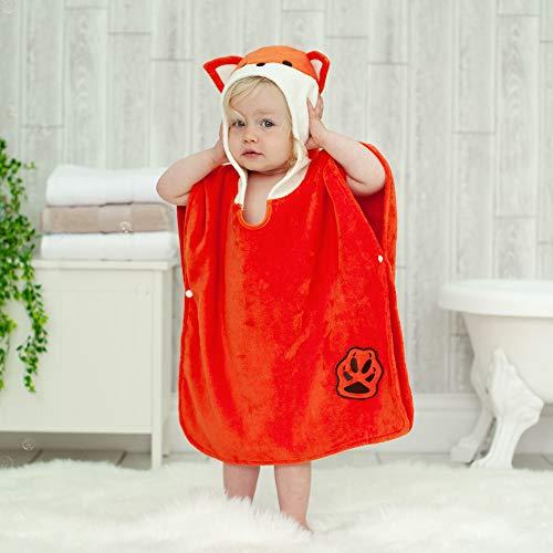 Bathing Bunnies Kinder Poncho-Handtuch für Jungen und Mädchen im Alter von 1-3 Jahren für Strand und Badezeit