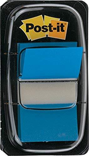 Post-it I680-2 Index 1 Spender à 50 Haftstreifen (25,4 x 43,2 mm) blau
