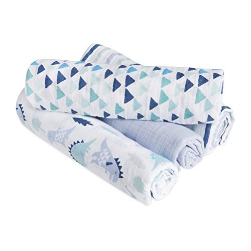 Product Image of the aden + anais Essentials Swaddle Blanket, Muslin Blankets for Girls & Boys, Baby...