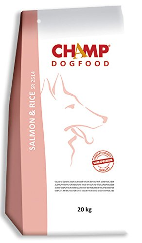 Champ Hundefutter Lachs und Reis 10 Kilo
