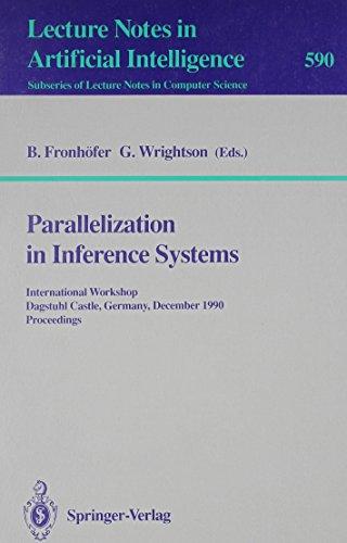 Parallelization in Inference Systems: International Workshop Dagstuhl Castle, Germany, December 17-18, 1990 Proceedings