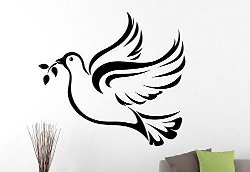 60X60 Dove Muursticker Vogelsticker Muursticker Home Design Slaapkamer Ontwerp Dierlijk Sticker Muursticker Vinyl Kunst Muurdecoratie