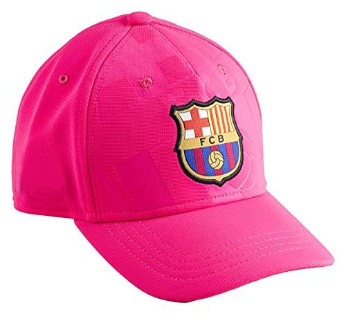 Fc Barcelone - Berretto da bambino Barça, collezione ufficiale, taglia regolabile, bambino