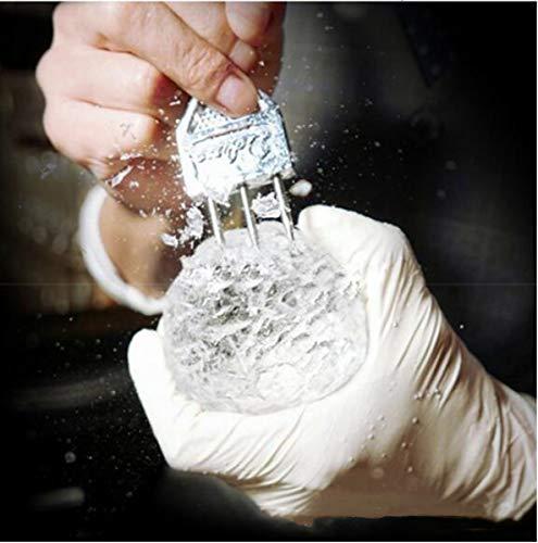 Eispickel, Edelstahl, 3 Zinken, Eismeißel, Crushed Ice Barware Bartender Tools Bar Zubehör
