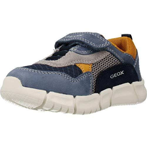 Geox Baby Jungen B FLEXYPER Boy A Sneaker, Blau (Dk Blue/Navy C4mf4), 21 EU