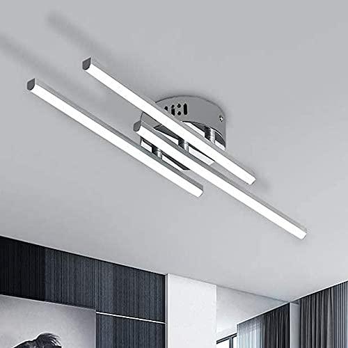 Plafoniera LED Soffitto 21W, Lampada da Soffitto LED, Lampadario Moderno 6500K Bianco Freddo 1680 Lumen per Bagno Cucina Camera da Letto