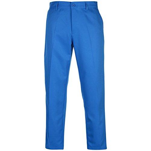 Slazenger Herren Golf Hose Golfhose Trainingshose Zip Blau 32W 31R