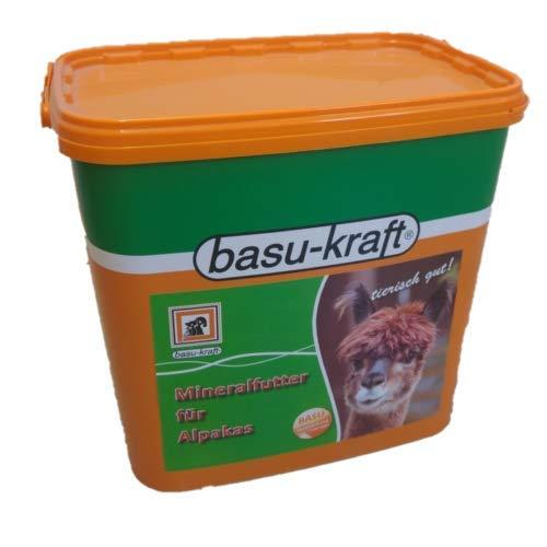 BASU Mineralfutter für Alpaka 12 kg - für eine ausgewogene Versorgung mit Mineralien, Spurenelementen und Vitaminen