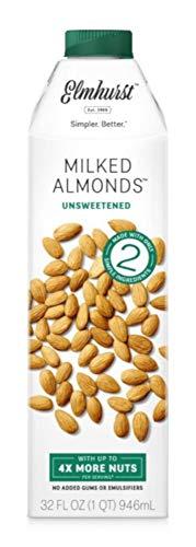 Elmhurst, Milk Almond Unsweetened, 32 Fl Oz