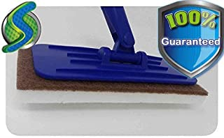 InstantErase Mop Floor Cleaning Pads (8 Pack) - Melamine Sponge Erasers - Compare to The Mr. Clean Magic Eraser - Doodlebug Cleaning Pad – Floor, Tile, Grout, Tough Jobs