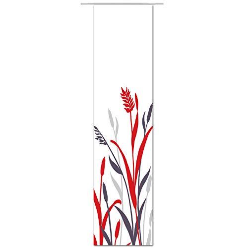 JEMIDI Flächenvorhang - Living- Schiebegardine Flächen Vorhang Raumtrenner Gardine Vorhang Schal (Design_155165, Polyester)