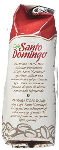 Santo Domingo Bolsa de café molido 8 onzas