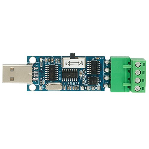 Spinel USB to Serial RS232/RS485 Converter Board 2 in 1 with CH340 chip, Supports All Windows OS 32bits and 64bits, MAC, Linux, P/N: SXH-U1-V1