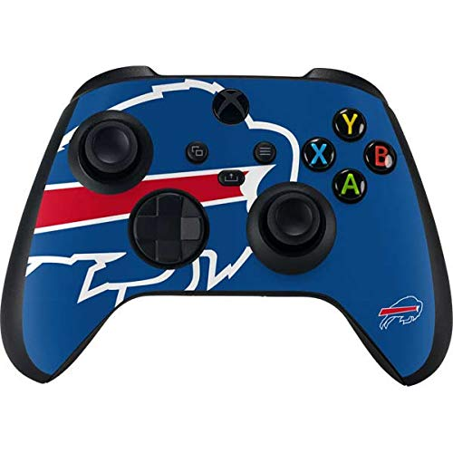 Skinit Decal Gaming Skin Compatible with Xbox Series X Controller - Officially Licensed NFL Buffalo Bills Large Logo Design
