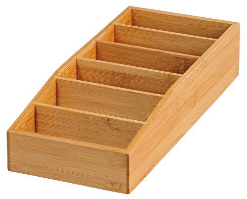 Kesper 70722 Aufbewahrungsbox, Bambus, Maße: 35 x 15 x 7 cm