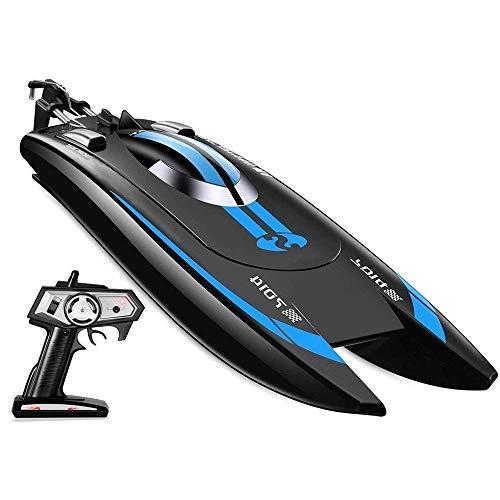 KRCT 2.4GHz Professionale Telecomando Rowing Brushless Motor 25k / h ad Alta velocità di RC velocità della Barca 7.4V Batteria Ricaricabile 80M Distanza di Controllo remoto Giocattolo Elettrico Yacht