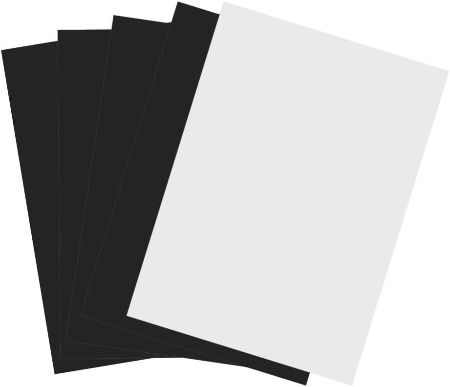 Printable Magnetic Sales Paper 5Pcs A4 Flexible Print Inkjet Dedication