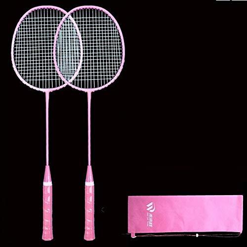 Badmintonschläger Erwachsene Studenten Familie Set Anfänger Kinder-One Powder_General