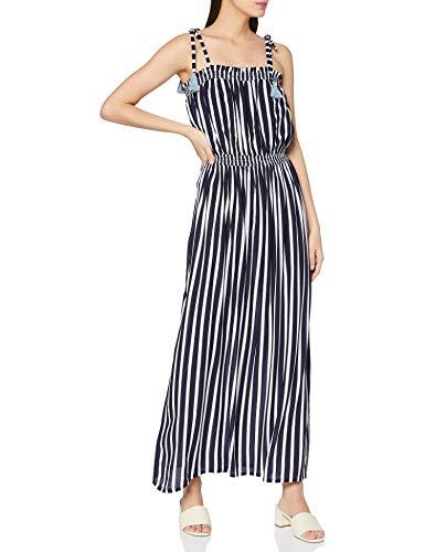 ESPRIT Bodywear Damen Tampa Beach Acc CVElong Dress Überwurf für Schwimmbekleidung, 401, L